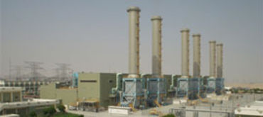 Engineering of 6 x 100 MW Gas Turbine Simple Cycle Power Plant at Aweer Dubai