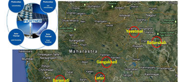 Feasibility Study for 5 CSP and PV Projects with varying plant capacity in the multi megawatt range-MAHAGENCO, India
